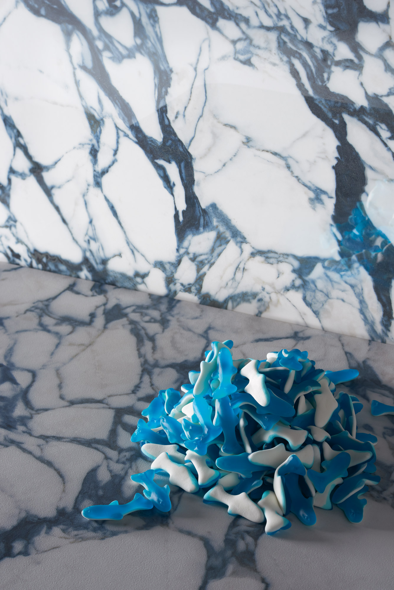 Wall Pulp Blue Double Polished - Floor Pulp Blue Raw