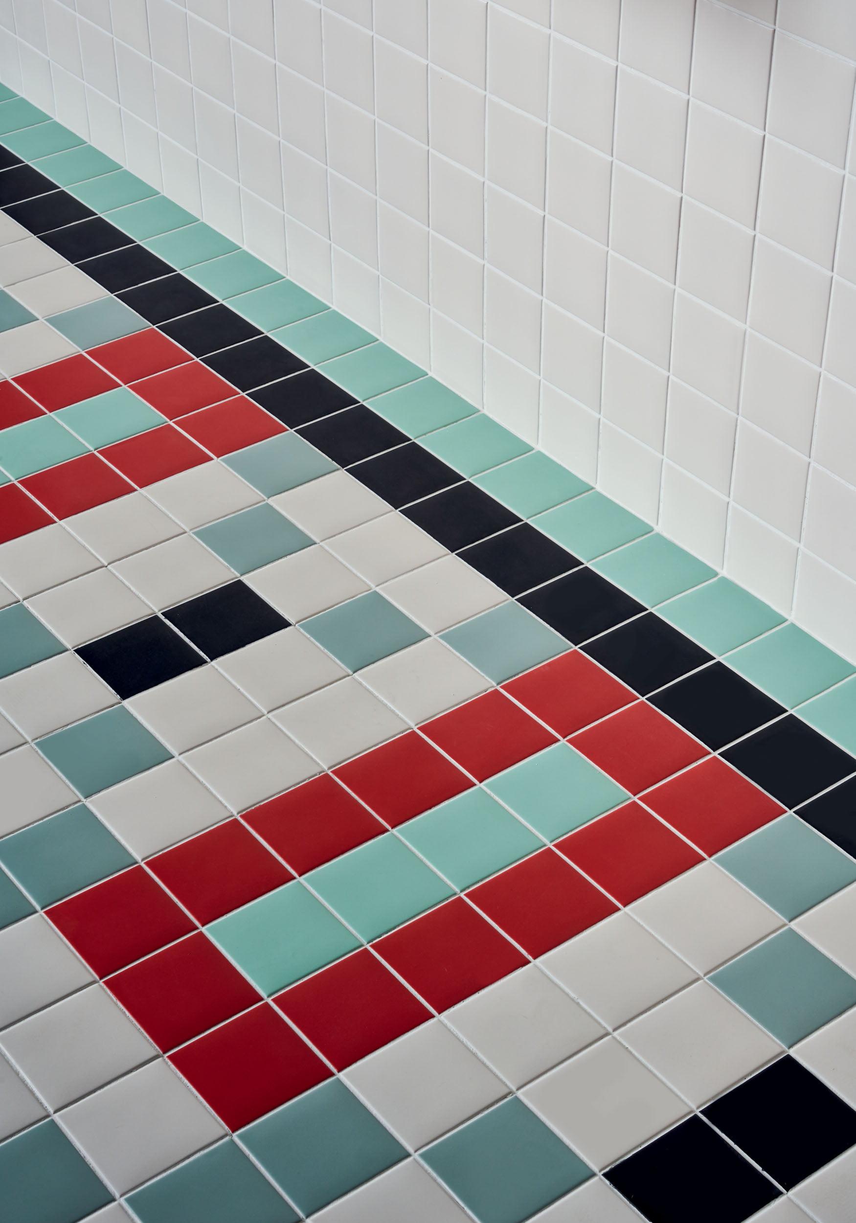 """Pixel41 11,55x11,55 5""""x5"""", 01 Red - 21 White - 25 Black - 34 Celadon - 41 Mint"""